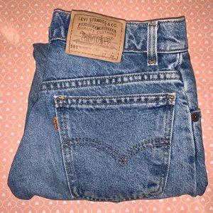 Levi's Orange Tab Rare 562 Student Jeans High Rise